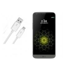 LG G5 Şarj Data Kablosu Beyaz