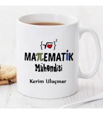 Matematik Mühendisi Kişiye Özel Kupa Pi37