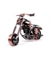 Metal Motosiklet - Bakır