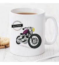 Motorsikletim Kişiye Özel Kupa Pi67