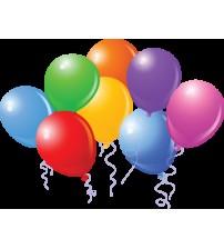 Renkli Balon – 100 Adet