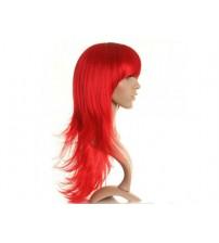 Uzun Peruk Saç Kırmızı
