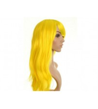 Uzun Peruk Saç -  Açık Sarı