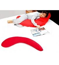 Yarım Boy Hamile ve Uyku Yastığı ( Kırmızı )