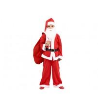 Noel Baba Elbisesi 9 - 13 Yaş Erkek Çocuk
