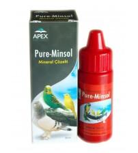 Muhabbet Kuşu İçin Mineral Çözelti - Pure-Minsol