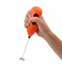 Mini Pilli Portatif Karıştırıcı Cappucino Maker Mikser - Renkli