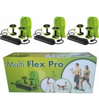 Multiflex Pro Kopmayan Lastikli Spor Aleti Karın Kası ve Şınav Aleti