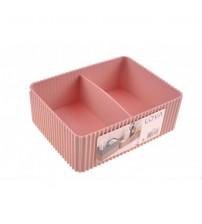 Organizer Kutu - Kat Kat Kullanılabilir 2 Bölmeli Pratik Organizer