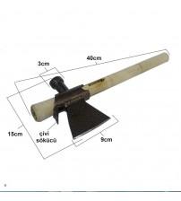 Rus Tipi Nacak Balta 800 gr. 40 cm.