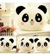 Sevimli Panda Tasarımlı Polar Yastık